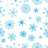 Snow seamless backround Stock Photos