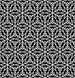 Snow seamless pattern. Abstract winter ornamental textured backg Stock Images