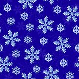 Snow seamless pattern Stock Photos