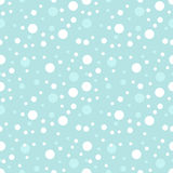 Snow seamless pattern Stock Image