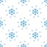 Snow seamless pattern Royalty Free Stock Image
