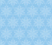 Snow seamless pattern. Winter Holiday Snowflakes lacy tile ornam Stock Photo