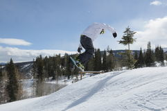 Snow Session, Beaver Creek, Eagle County, Colorado Stock Photos