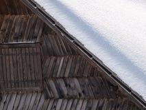 Snow shack Royalty Free Stock Image
