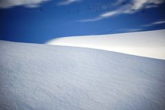 Snow and shadows. texture background snow surface the snow royalty free stock image