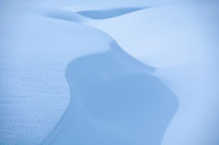 Snow shapes Royalty Free Stock Photography