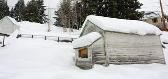 Snow Shed Stock Photos
