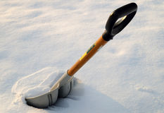 Snow Shovel Stock Photography