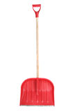 Snow shovel, isolated. On white Stock Photos