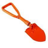 Snow shovel, isolated Stock Image