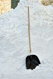 Snow shovel Royalty Free Stock Photo