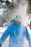 Snow shower Stock Photos