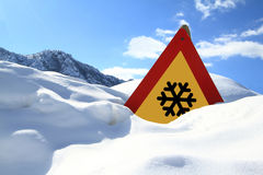 Free Snow Sign Royalty Free Stock Images - 23612659