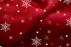 Snow on Silk Royalty Free Stock Image