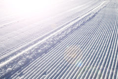 Snow ski track background Royalty Free Stock Photography