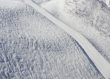 Snow, ski track, sochi, Russia Stock Photography
