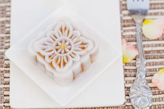 Snow skin mooncakes Royalty Free Stock Photo