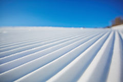 Snow and sky Stock Photo