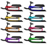 Snow sledge isolated - colorful Stock Photos