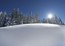 Snow Slope Scenery Stock Photos