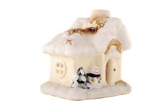 Snow Small House Royalty Free Stock Image