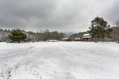 Snow in the Smokies Stock Image