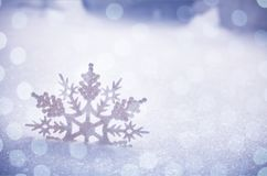 Snow. Flake flakes card winter holiday silver Royalty Free Stock Image