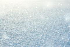 Snow, snowdrift texture background Stock Images