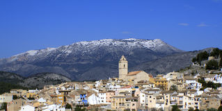 Snow in Southern Spain Stock Photography