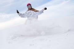 Snow splashes stock images