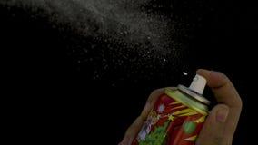 Snow Spray stock footage