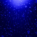 Snow and stars Royalty Free Stock Photography
