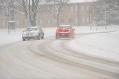 Snow Storm stock photography
