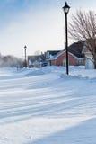 Snow Storm Royalty Free Stock Photos