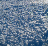 Snow structure Stock Image