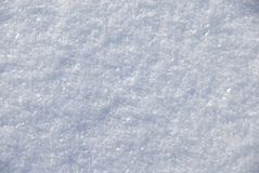 Snow surface Royalty Free Stock Photos