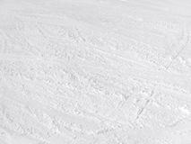 Snow surface Stock Photo