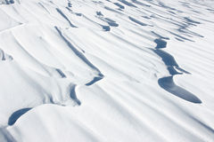 Snow surface. The background of snow surface Royalty Free Stock Photos