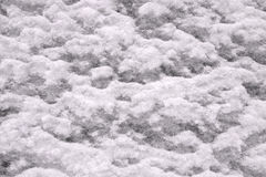 Snow surface Stock Photo