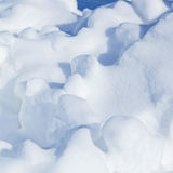 Snow surface background Stock Image
