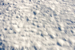 Snow surface background Stock Photo