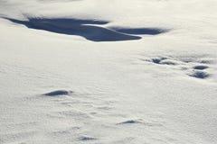 Snow surface Stock Image