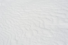 Snow surface pattern Stock Photo