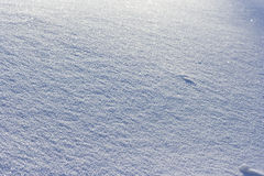 Snow surface pattern Royalty Free Stock Images