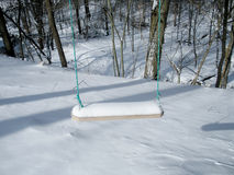 Snow Swing Stock Image