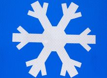 Snow symbol Royalty Free Stock Photos