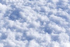 Snow texture Stock Image