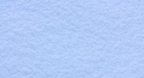 Snow texture. Abstract texture of blue snow Stock Photo