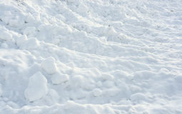 Snow texture. Beautiful clean and soft snow surface Royalty Free Stock Images