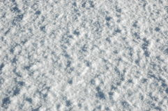Snow texture. On sunlight close-up Stock Photography